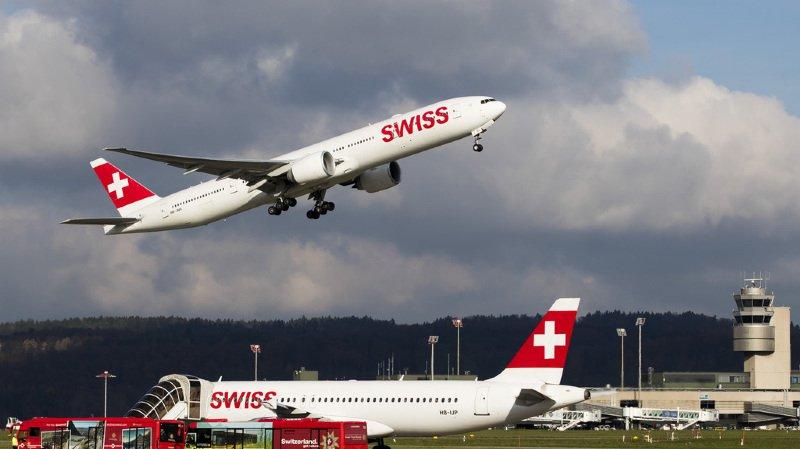 Transport aérien: les incidents dans les avions suisses sont en hausse
