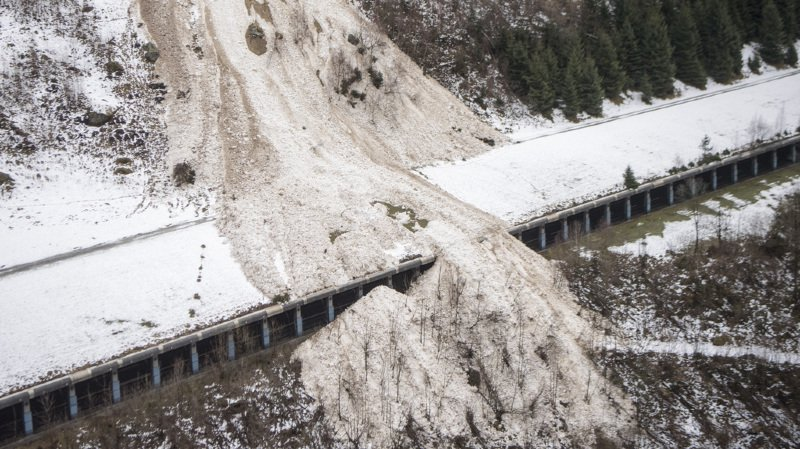 L'Université de Genève démontre qu'il y a un lien direct entre l'augmentation du nombre d'avalanches et le réchauffement