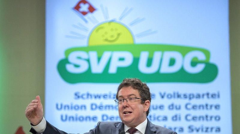 """Albert Rösti a appelé les membres du parti à """"veiller à ce que la Suisse reste la Suisse"""" (archives)."""