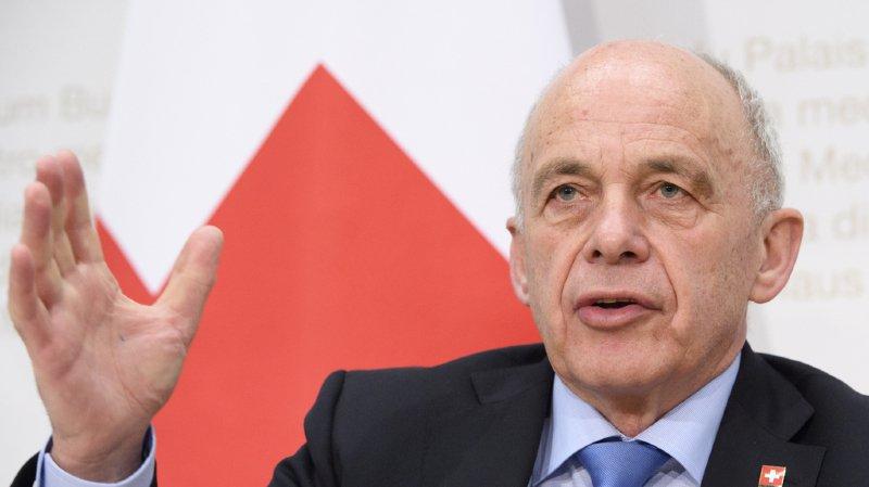 Suisse: Ueli Maurer veut rester au Conseil fédéral quatre ans de plus