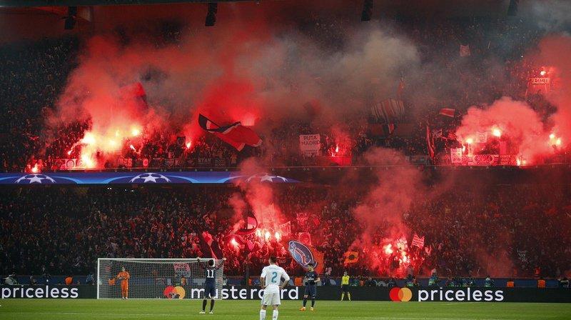 Fumigènes: procédure disciplinaire contre le PSG après le match face au Real Madrid