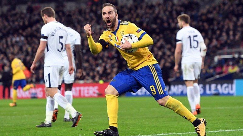 Ligue des champions: la Juventus frappe fort à Wembley en s'imposant 2 à 1
