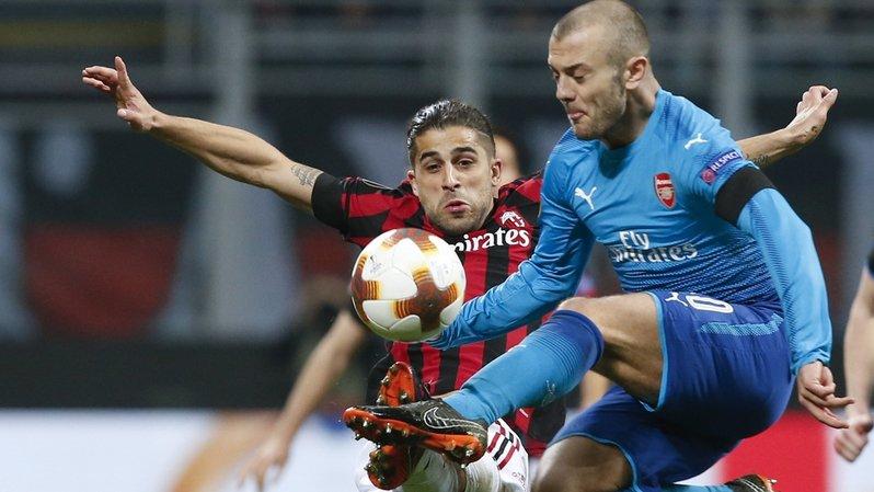 A l'image de Jack Wilshere, Arsenal a dominé l'AC Milan jeudi lors des 8es de finale aller de l'Europa League.