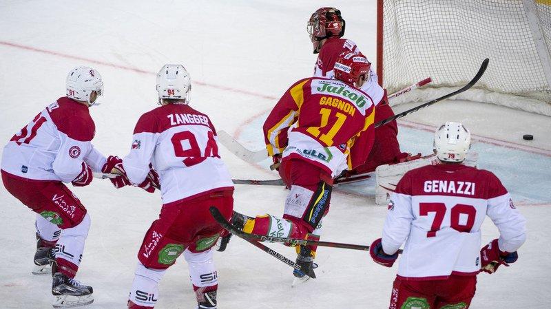 Aaron Gagnon offre la victoire aux Bernois contre les Vaudois.