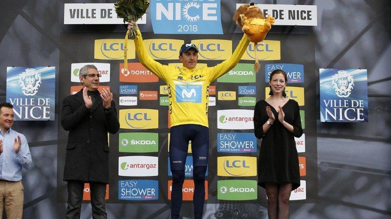 Simon Yates triomphe en solitaire à Paris-Nice