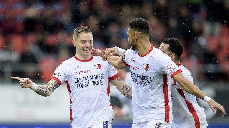 Super League: le FC Sion écrase le FC Thoune et se relance dans son opération maintien