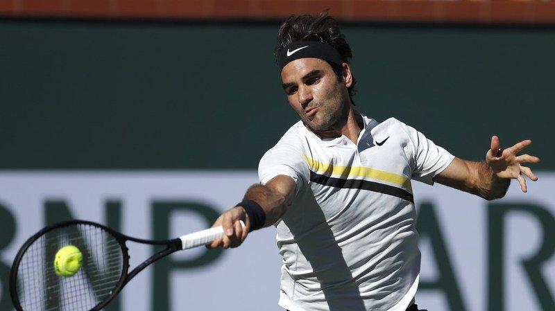 Tennis - Indian Wells: Federer se hisse en 8e de finale aux dépens du Serbe Krajinovic