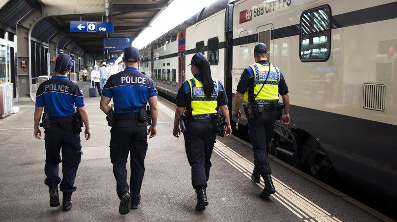 Criminalité: forte augmentation des arrestations dans les trains et les gares