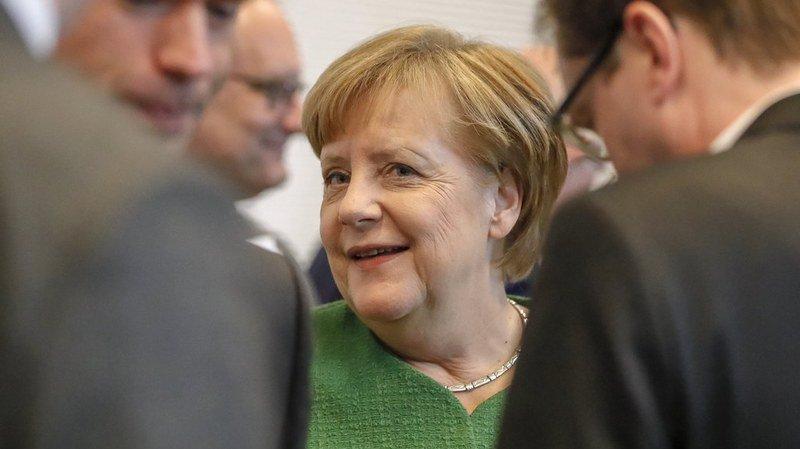 Allemagne: Angela Merkel élue à la chancellerie pour un quatrième mandat