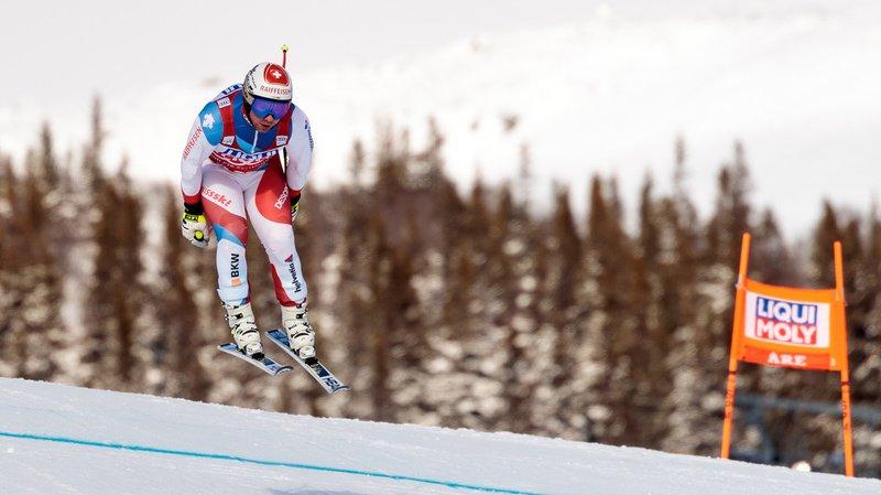 Ski alpin: Beat Feuz remporte le globe de la descente à Are