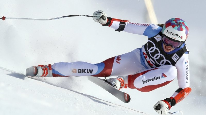 Ski alpin: Michelle Gisin 4e du dernier Super-G de la saison à Are, Lara Gut tombe et laisse le globe de la spécialité à Weirather