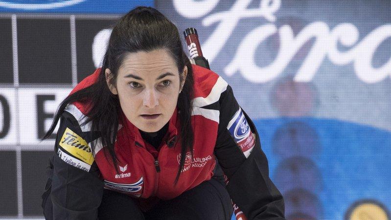 Face aux Championnes olympiques, Binia Feltscher et ses coéquipières ont cédé sur le fil, au dixième end sur l'unique coup de deux de la partie.