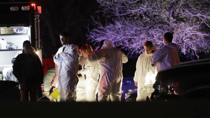 Le jeune homme, sur le point d'être arrêté, a actionné l'un de ses engins explosifs mardi soir.