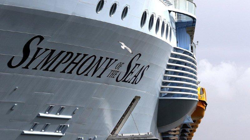 France: le «Symphony of the Seas», plus gros paquebot du monde, quitte Saint-Nazaire