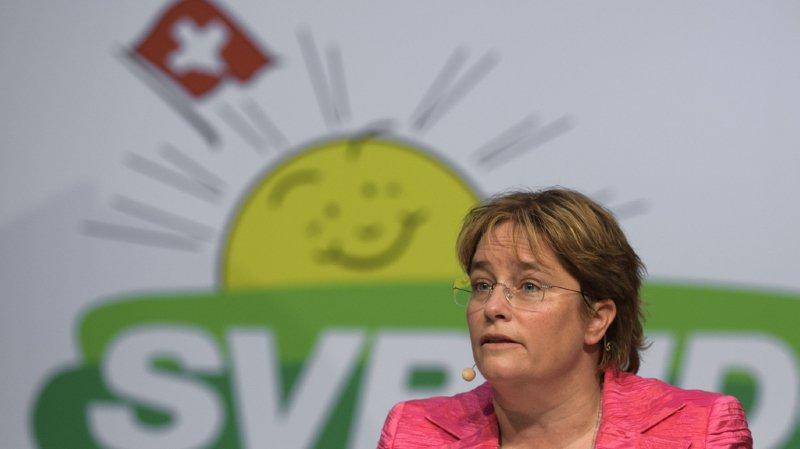 La Zurichoise Magdalena Martullo a été élue à l'unanimité.