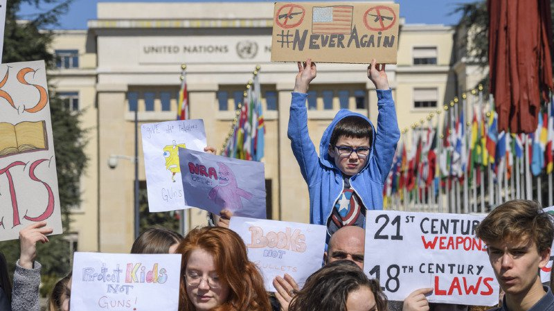 Plus de 800 marches étaient organisées samedi aux Etats-Unis et dans d'autres pays. Des centaines de milliers de personnes étaient attendues.