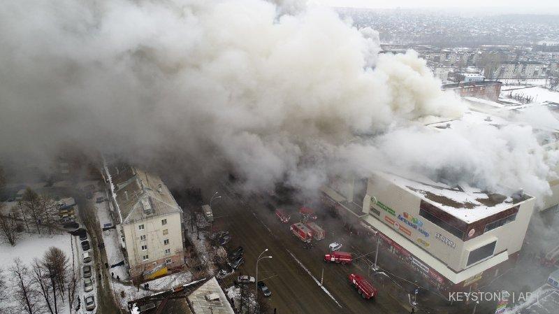Incendie dans un centre commercial en Sibérie: le bilan grimpe à 64 morts