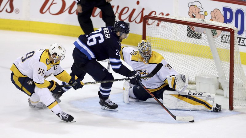NHL: les Predators de Nashville à nouveau battus malgré un but de Roman Josi