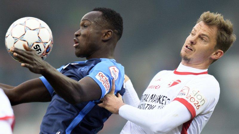 Super League: le FC Sion ne gagne qu'un point et fait une mauvaise affaire au classement
