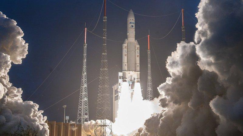 Espace: mission réussie pour Ariane 5, qui a placé deux satellites sur orbite