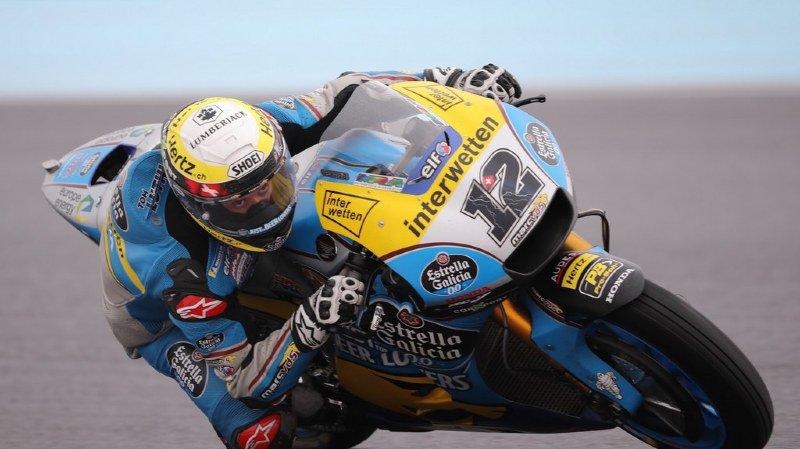 Motocyclisme: Thomas Lüthi partira 20e du Gand Prix d'Argentine