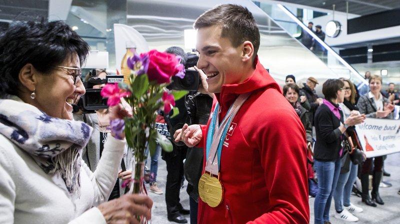 Jeux paralympiques: Théo Gmür, le retour du héros de PyeongChang