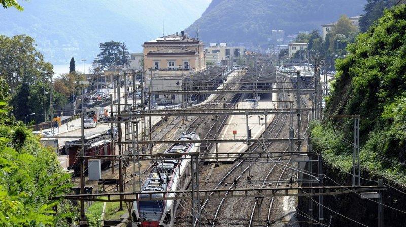 Risque d'éboulement: la ligne ferroviaire entre Locarno et Domodossola à nouveau interrompue