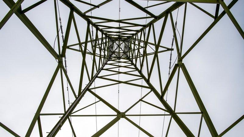 Des pylônes pourraient être déplacés plus au sud dans la région de Grône.