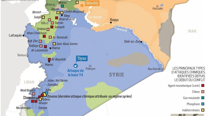 Emmanuel Macron n'exclut pas des frappes françaises en Syrie