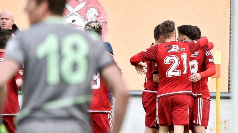 Le FC Conthey a signé son premier succès du printemps.