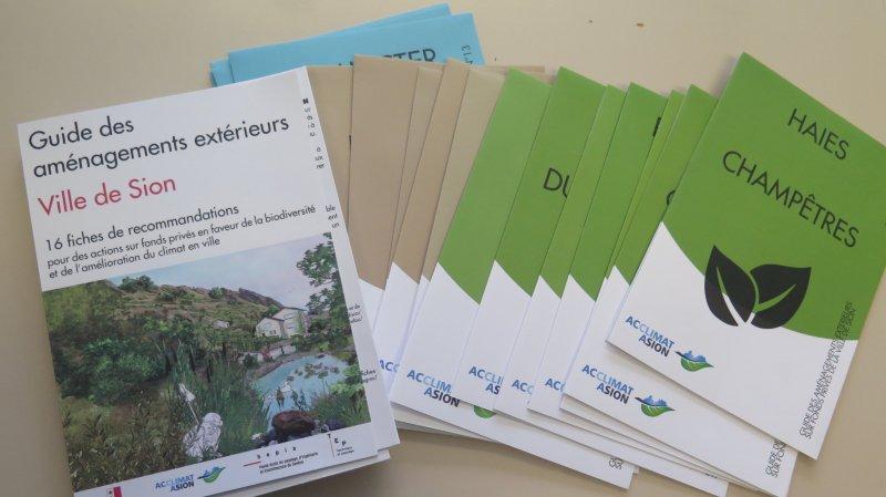 Le guide est composé de 16 fiches didactiques avec des actions faciles à mettre en place.