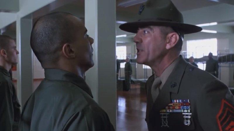Ancien militaire du corps des Marines, R. Lee Ermey avait fait la guerre du Vietnam.