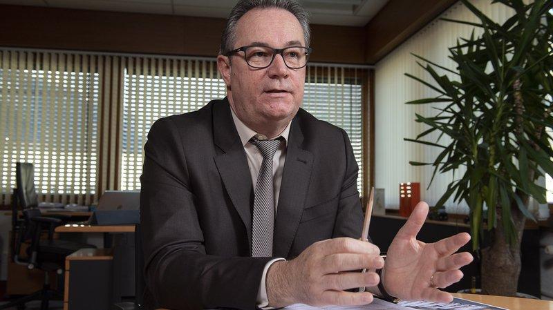 Max Alter , directeur de Migros Valais, veut concurrencer la vente en ligne notamment par le développement du commerce de proximité. ©Sacha Bittel / Le Nouvelliste