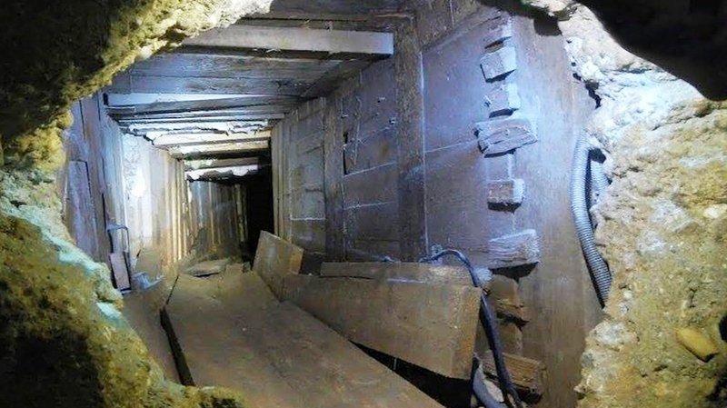 Le gang français avait creusé un tunnel de 30 mètres pendant des mois à Toulouse. En Valais, il ne lui faudra que quelques heures pour vider la villa d'Ardon.