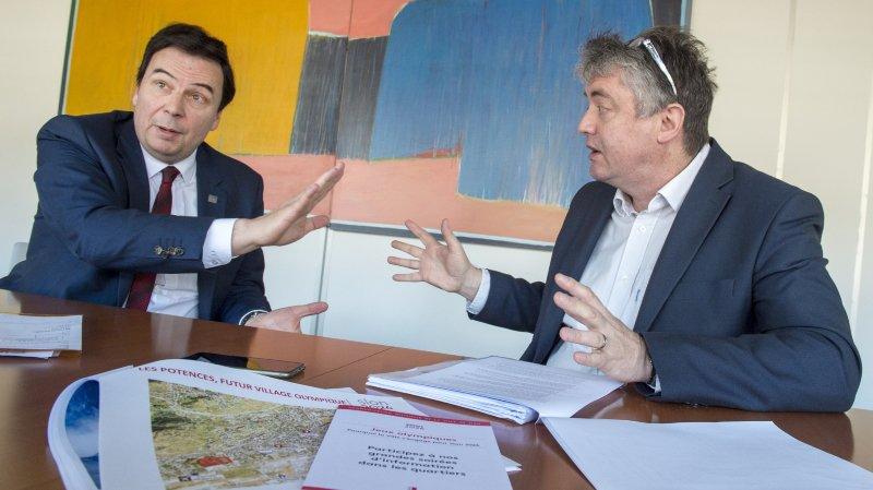 Sion 2026: Philippe Varone et Jean-Pascal Fournier croisent le fer