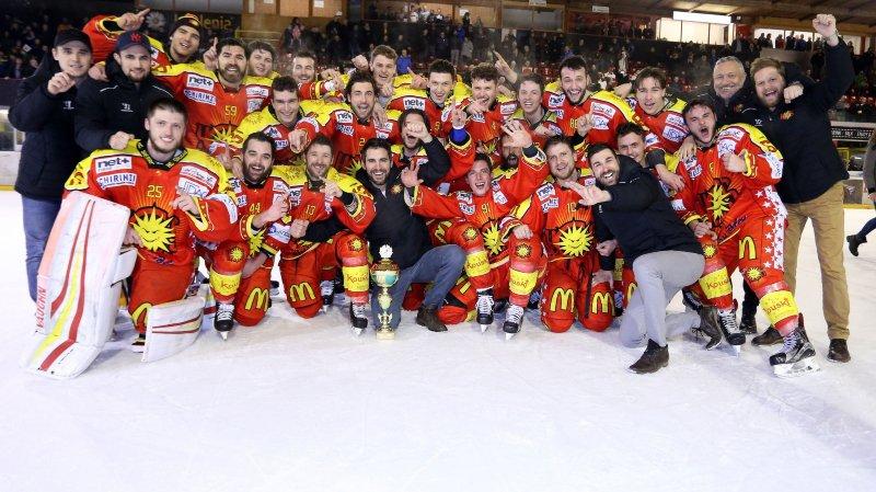 Sierre, promu en Swiss Regio League, a eu un peu de réussite dans ses malheurs