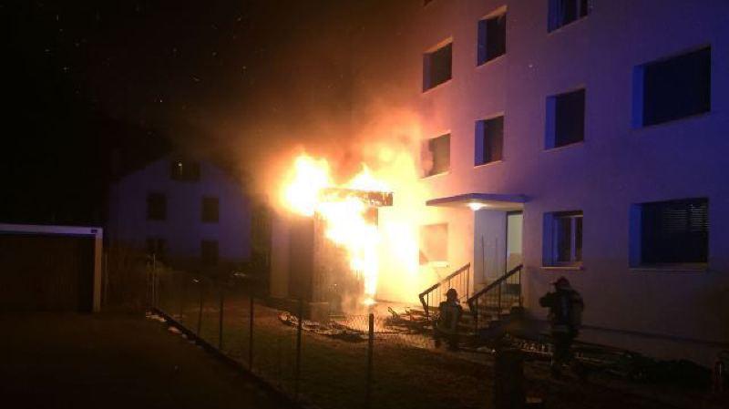 Fribourg: 20 locataires d'un immeuble évacués à cause d'un incendie