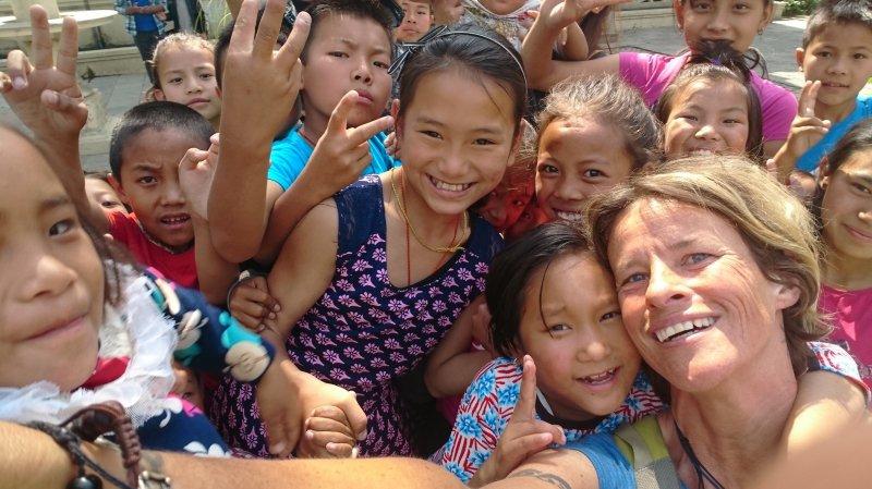Saint-Maurice: Karine Moix s'engage en faveur des régions oubliées du Népal