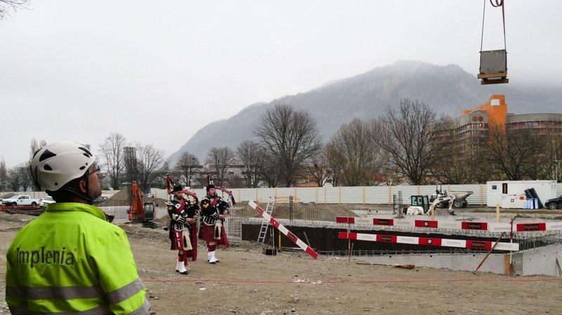 Sion: le parking de l'hôpital sort de terre