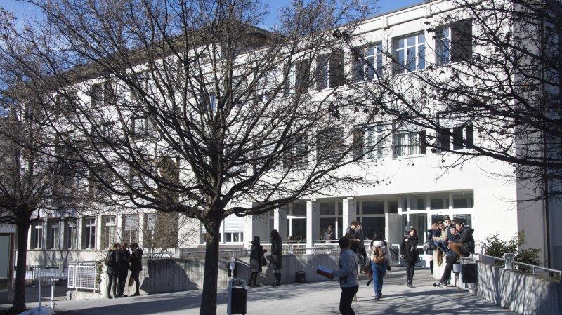 Le collège de la Planta sera bientôt remplacé par un nouveau collège à Sion.