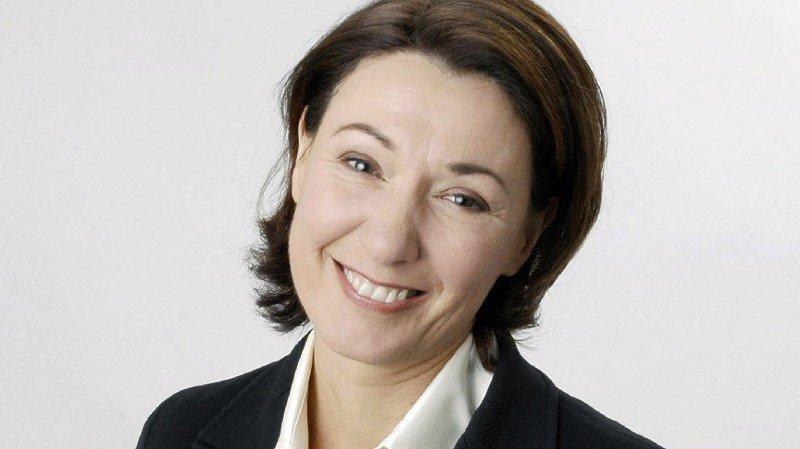 Journaliste et ex-rédactrice en chef des magazines de la RTS, Romaine Jean a été nommée directrice de la communication pour Sion 2026.