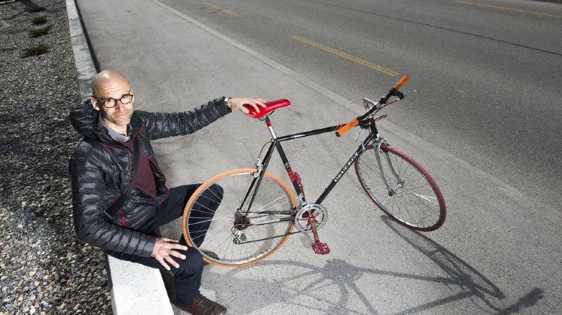 «Il y a une omerta du monde politique valaisan sur le vélo», selon Yves Degoumois, président de Pro Vélo Valais