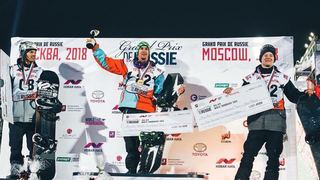 Snowboard: Carlos Gerber sur le podium à Moscou