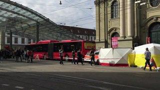 Décès d'un homme fauché par un bus à Berne