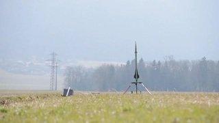 Une équipe de l'EPFL n'a pas pu lancer sa fusée à Cernier (NE)