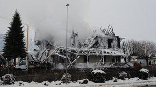 Planfayon (FR): deux hommes reconnus coupables pour l'incendie de l'hôtel Kaiseregg en 2015