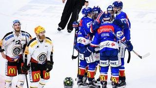 Hockey: grâce à un but de Wick en prolongation, Zurich mène 2-0 dans la finale face à Lugano