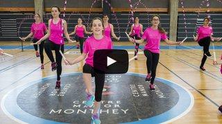 Valais: des gymnastes de Monthey à la conquête du championnat suisse de corde à sauter ou Rope Skipping