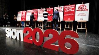 Les Grisons sur la retenue pour Sion 2026