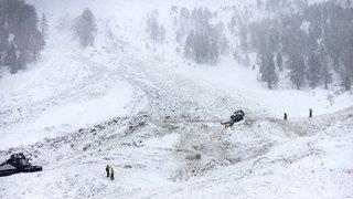 Avalanche sur les hauts de Riddes (VS): les recherches suspendues